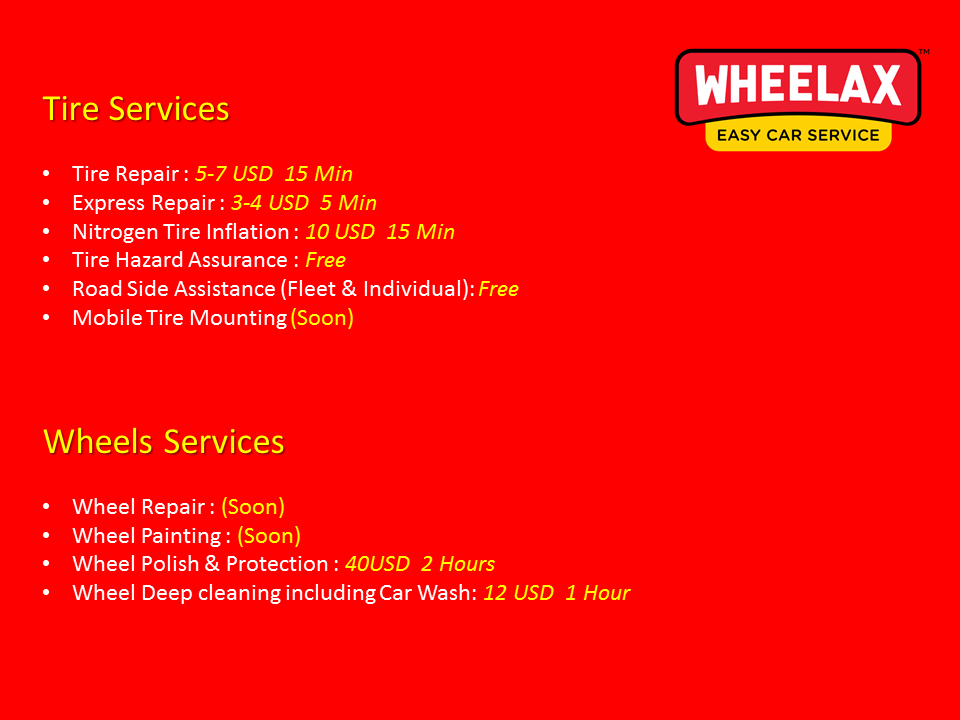 Wheelax Tire Services
